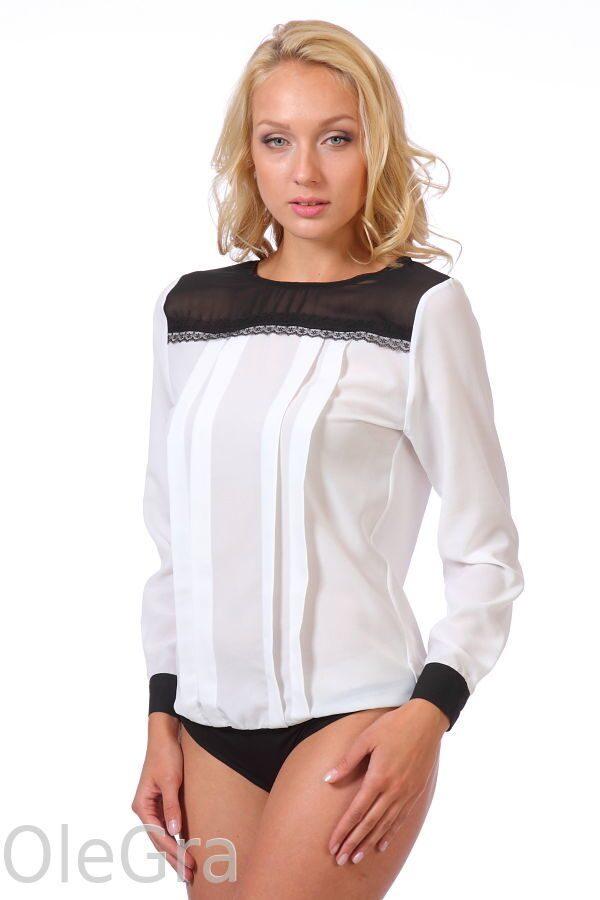 Блузка Белая Боди С Доставкой